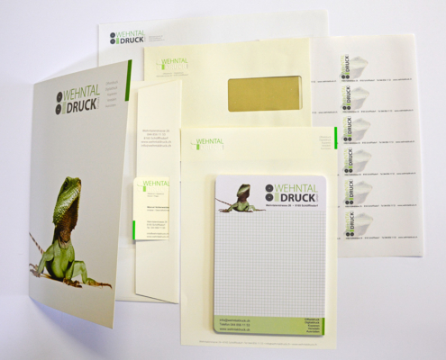 Wehntal Druck / Angebot Standard Briefschaft